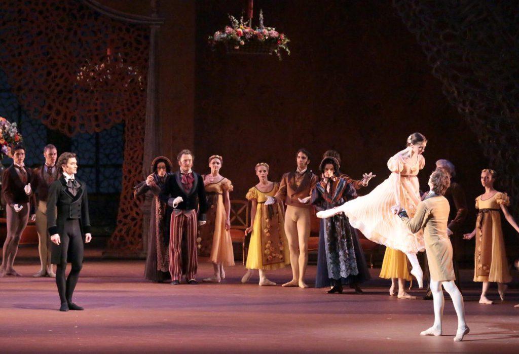 "5. V.Lantratov, A.Tikhomirova, S.Chudin and ensemble, ""Onegin"" by J.Cranko, Bolshoi Ballet © Bolshoi Theatre / D.Yusupov"