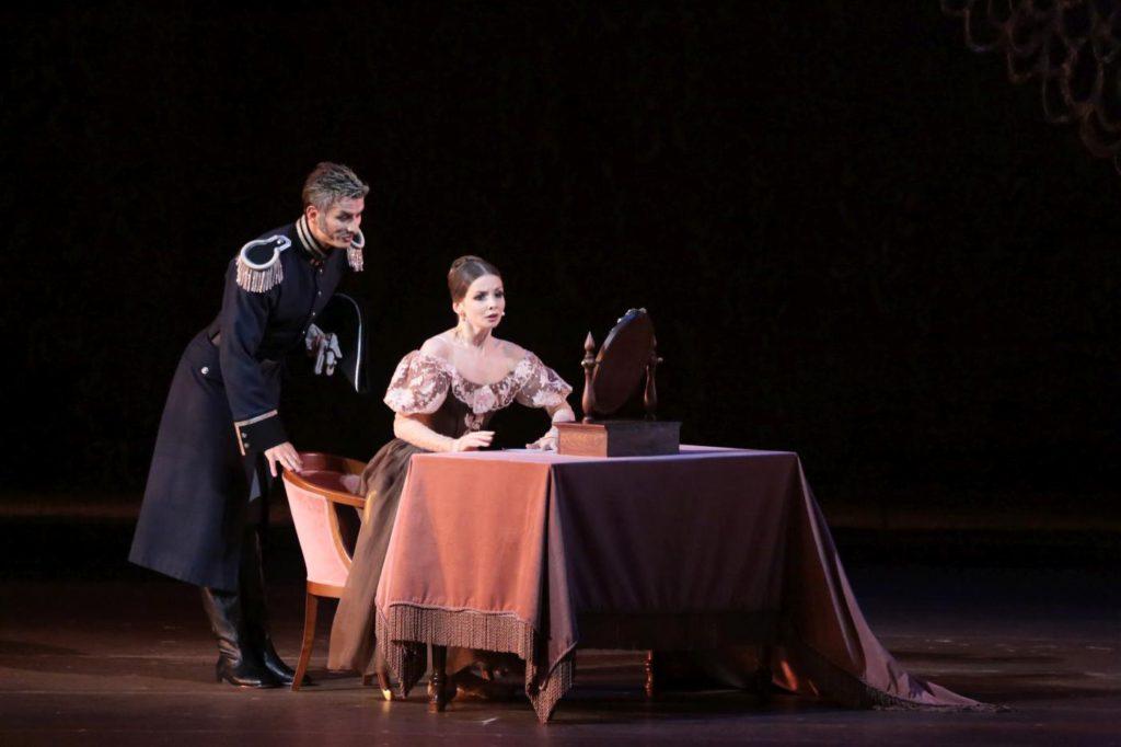 """8. A.Vodopetov and E.Obraztsova, """"Onegin"""" by J.Cranko, Bolshoi Ballet © Bolshoi Theatre / D.Yusupov"""