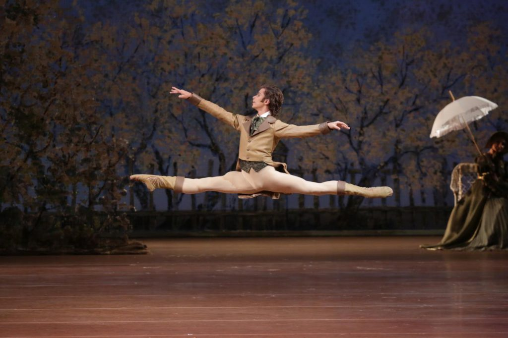 """4. A.Ovcharenko, """"Onegin"""" by J.Cranko, Bolshoi Ballet © Bolshoi Theatre / D.Yusupov"""