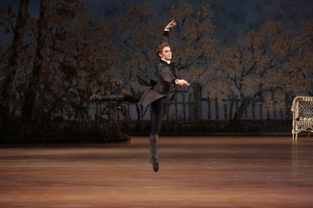 "2. D.Rodkin, ""Onegin"" by J.Cranko, Bolshoi Ballet © Bolshoi Theatre / D.Yusupov"