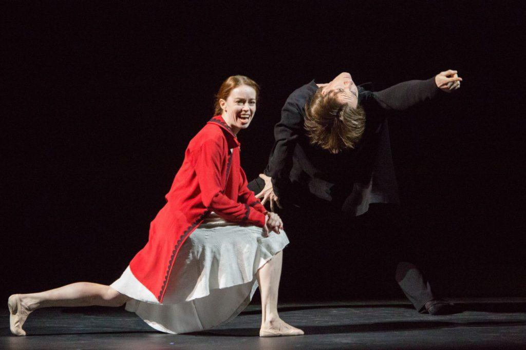 "3. E.Krysanova and V.Lantratov, ""Short Time Together"" by S.León and P.Lightfoot, Bolshoi Ballet 2017 © M.Logvinov / Bolshoi Theatre"