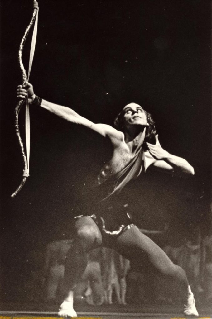 "6. B.Akimov in ""Icarus"" by S.Sloniumsky, production: V.Vasiliev, 2nd version 1976, Bolshoi Ballet © Museum of the Bolshoi Theatre"