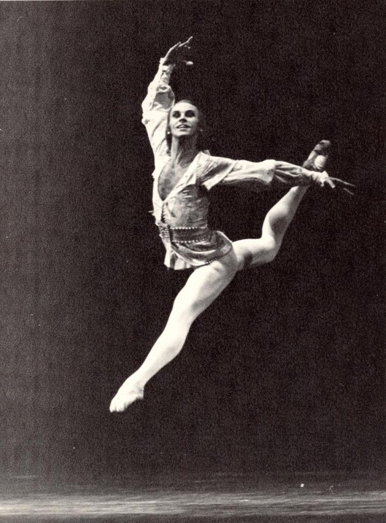 "3. B.Akimov in ""Yeti"", Bolshoi Ballet © Museum of the Bolshoi Theatre"