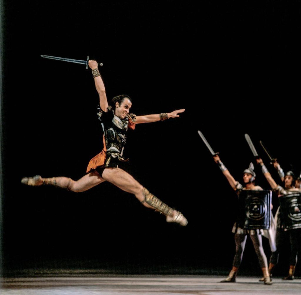 "8. B.Akimov in ""Spartacus"" by Y.Grigorovich, Bolshoi Ballet © Bolshoi Theatre / V.Pchyolkin"