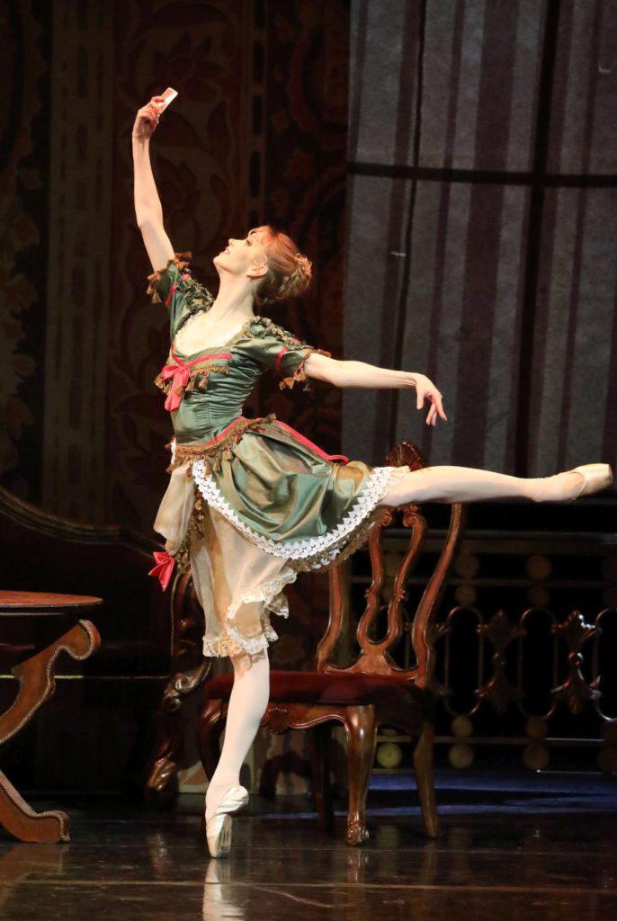 "5. N.Somova, ""Mayerling"" by K.MacMillan, Stanislavsky and Nemirovich-Danchenko Moscow Music Theatre 2017 © W.Hösl"