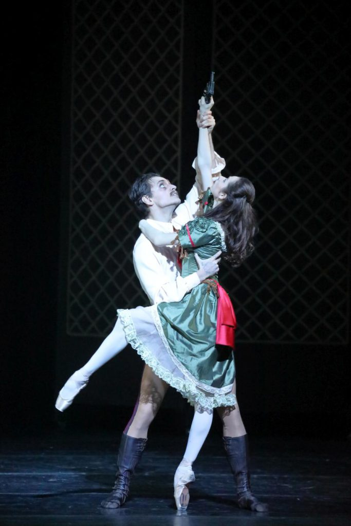 "6. S.Polunin and K.Shetsova, ""Mayerling"" by K.MacMillan, Stanislavsky and Nemirovich-Danchenko Moscow Music Theatre 2017 © W.Hösl"