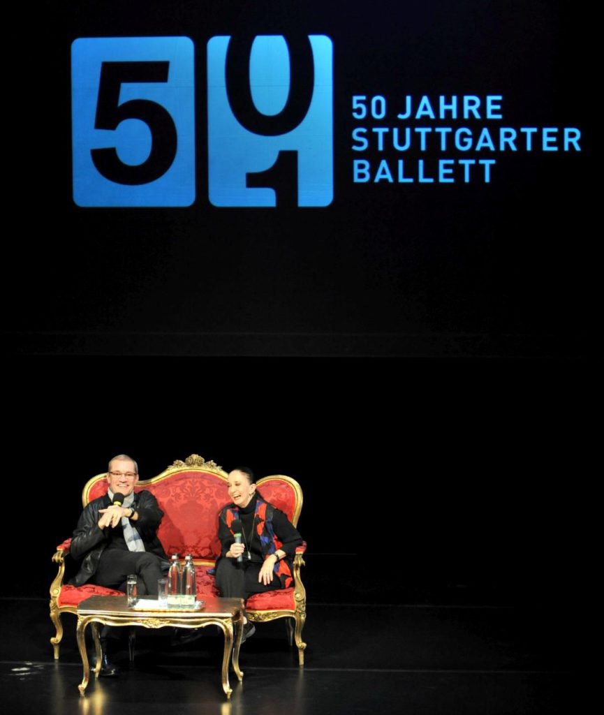 5. R.Anderson and M.Haydée at the Stuttgart Ballet 50th Anniversary celebrations © Stuttgart Ballet
