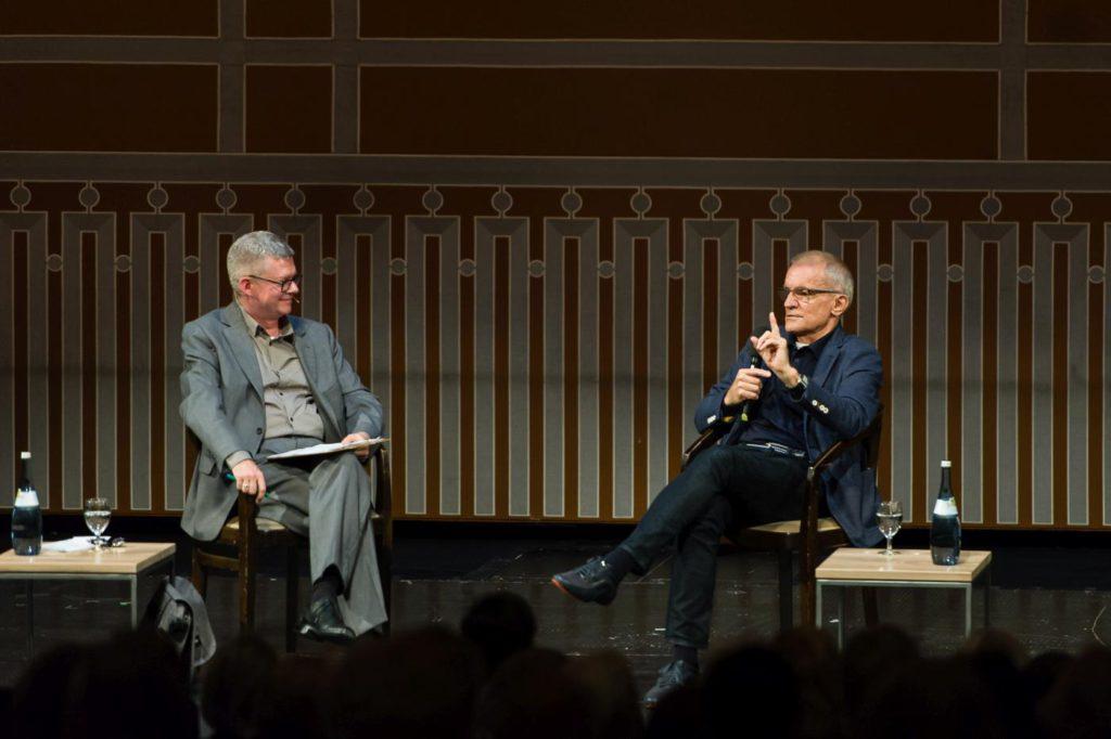 2. T.Schleider and R.Anderson, matinée talk © Stuttgart Ballet