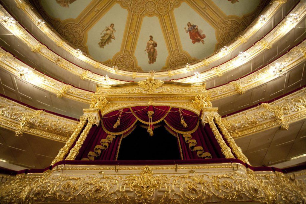 10. Bolshoi Theatre, Historic Stage © Bolshoi Theatre / D.Yusupov