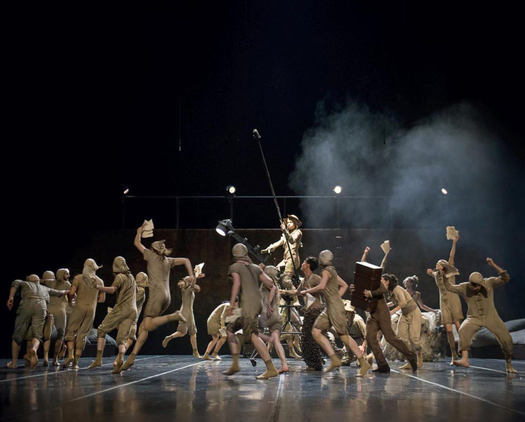 """2. Ensemble, """"Don Quixote"""" by G.Montero, Ballet of the State Theater Nuremberg 2017 © J.Vallinas"""