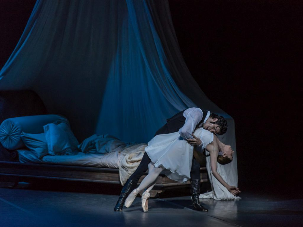 "6. C.Mansilla and M.Riccetto, ""Onegin"" by J.Cranko, National Ballet of Uruguay © National Ballet of Uruguay"