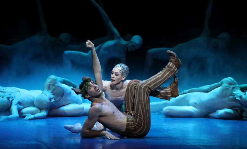 "4. K.Ryshkova and R.Strona, ""A Midsummer Night's Dream"" by J.Neumeier, Bavarian State Ballet 2017 © W.Hösl"