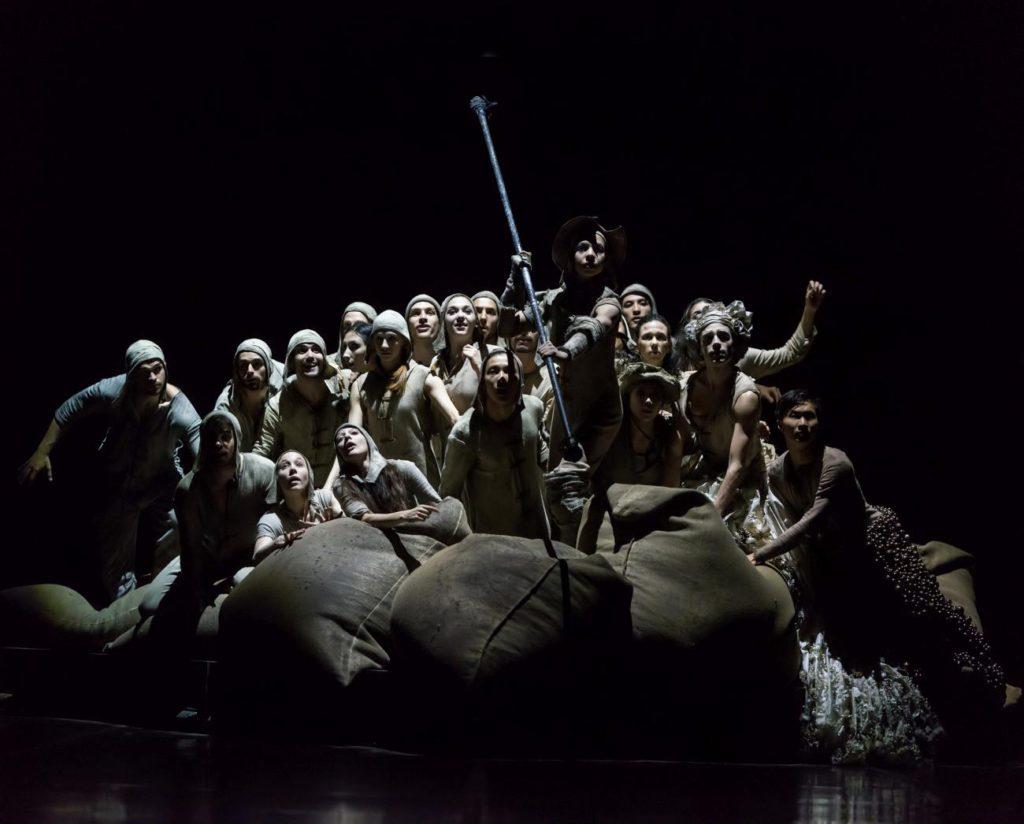 """6. Ensemble, """"Don Quixote"""" by G.Montero, Ballet of the State Theater Nuremberg 2017 © J.Vallinas"""