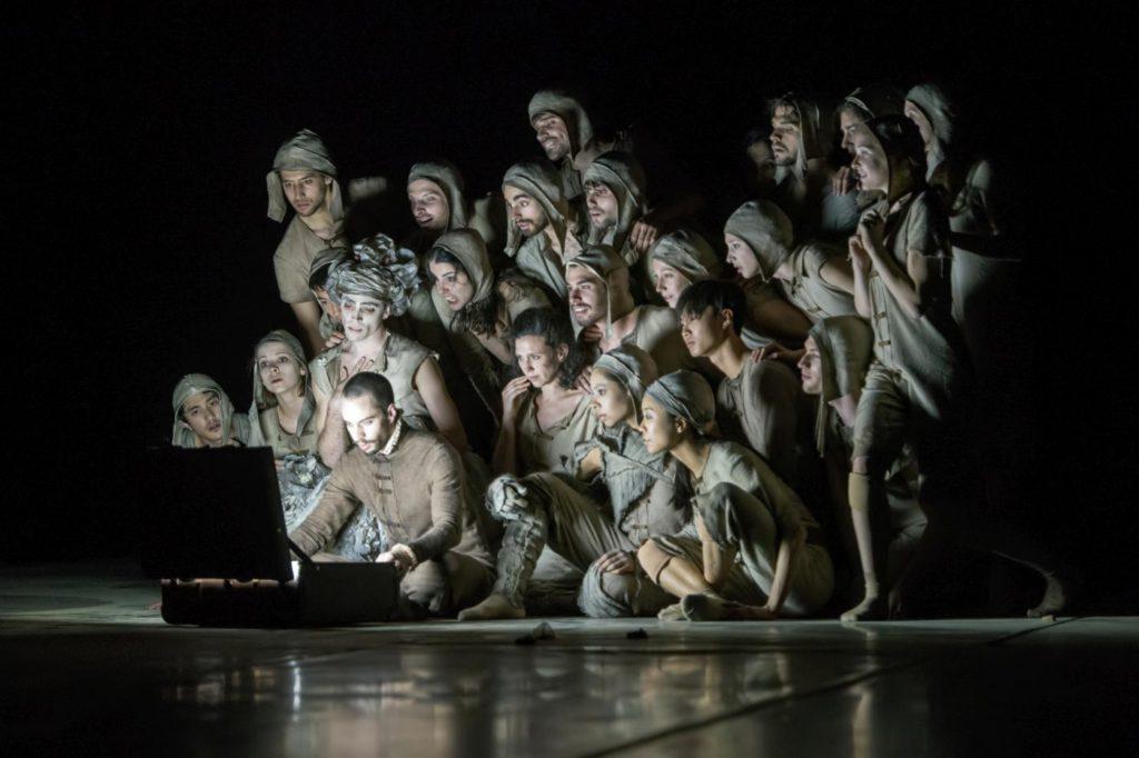 """9. Ensemble, """"Don Quixote"""" by G.Montero, Ballet of the State Theater Nuremberg 2017 © J.Vallinas"""