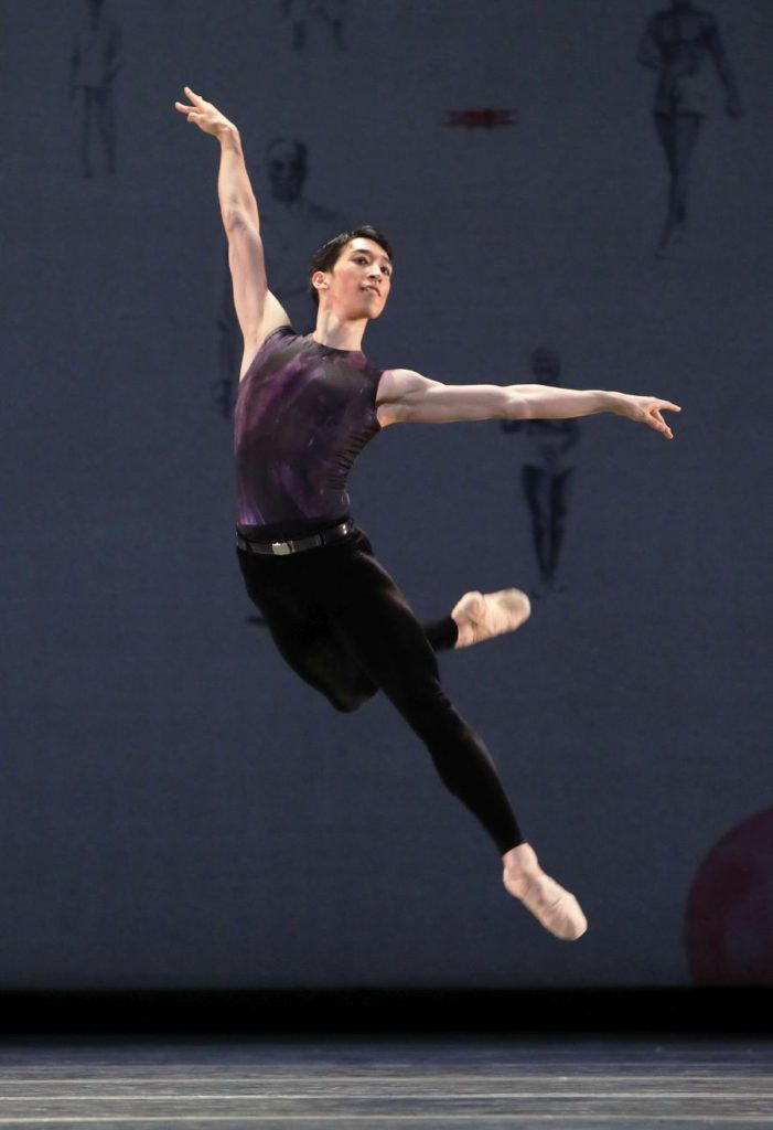 "4. S.Yamada, ""Shostakovich Trilogy"" by A.Ratmansky, Dutch National Ballet 2017 © H.Gerritsen"