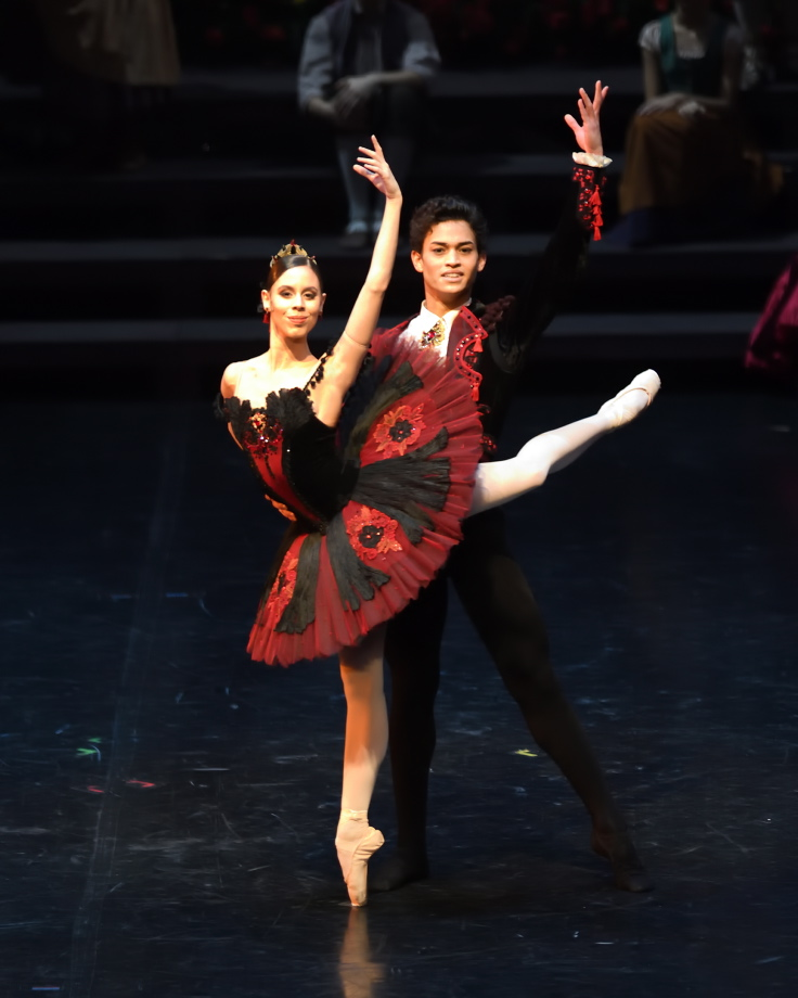 """5. E.Badenes and A.Soares da Silva, """"Don Quixote"""" by M.Guerra, Stuttgart Ballet 2017 © Stuttgart Ballet"""