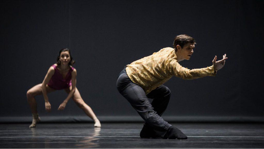 "14. G.Tonelli and M.Knight, ""Quintett"" by W.Forsythe, Ballet Zurich 2017 © C.Quezada"