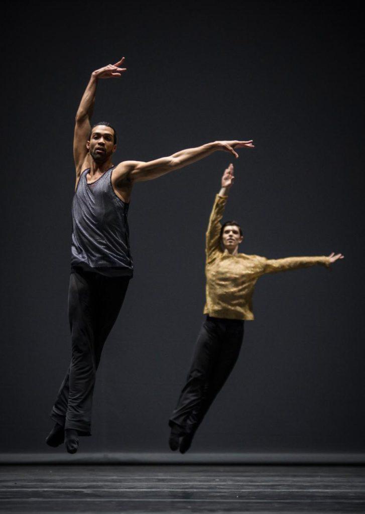 """10. M.Renard and M.Knight, """"Quintett"""" by W.Forsythe, Ballet Zurich 2017 © C.Quezada"""