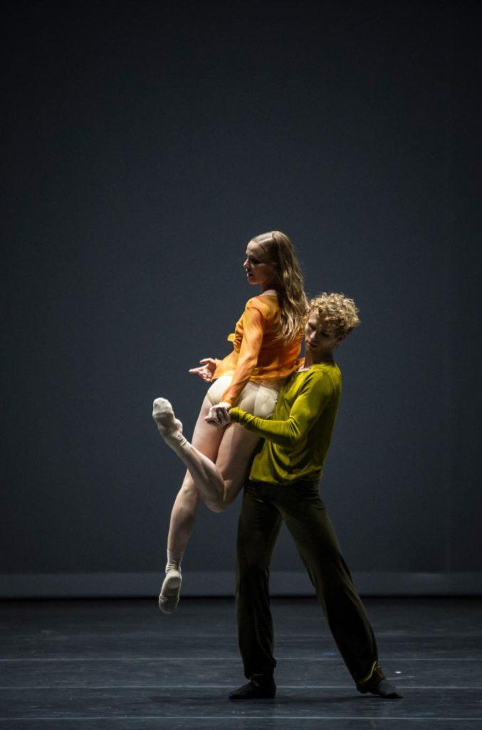 "13. K.Wünsche and T.Vandebeek, ""Quintett"" by W.Forsythe, Ballet Zurich 2017 © C.Quezada"