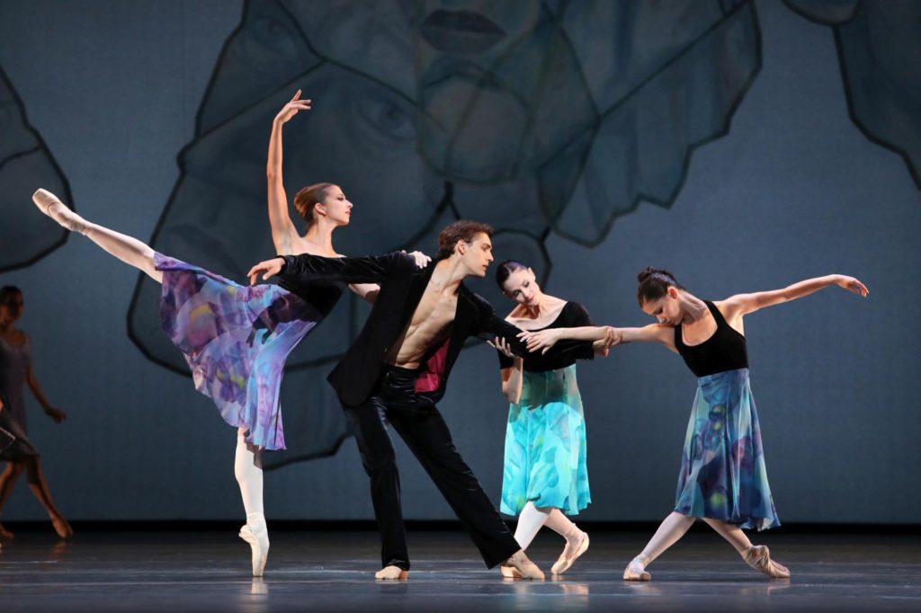 "11. S.Mukhamedov, D.Camargo, E.Merdjanova and N.Agvanean, ""Shostakovich Trilogy"" by A.Ratmansky, Dutch National Ballet 2017 © H.Gerritsen"