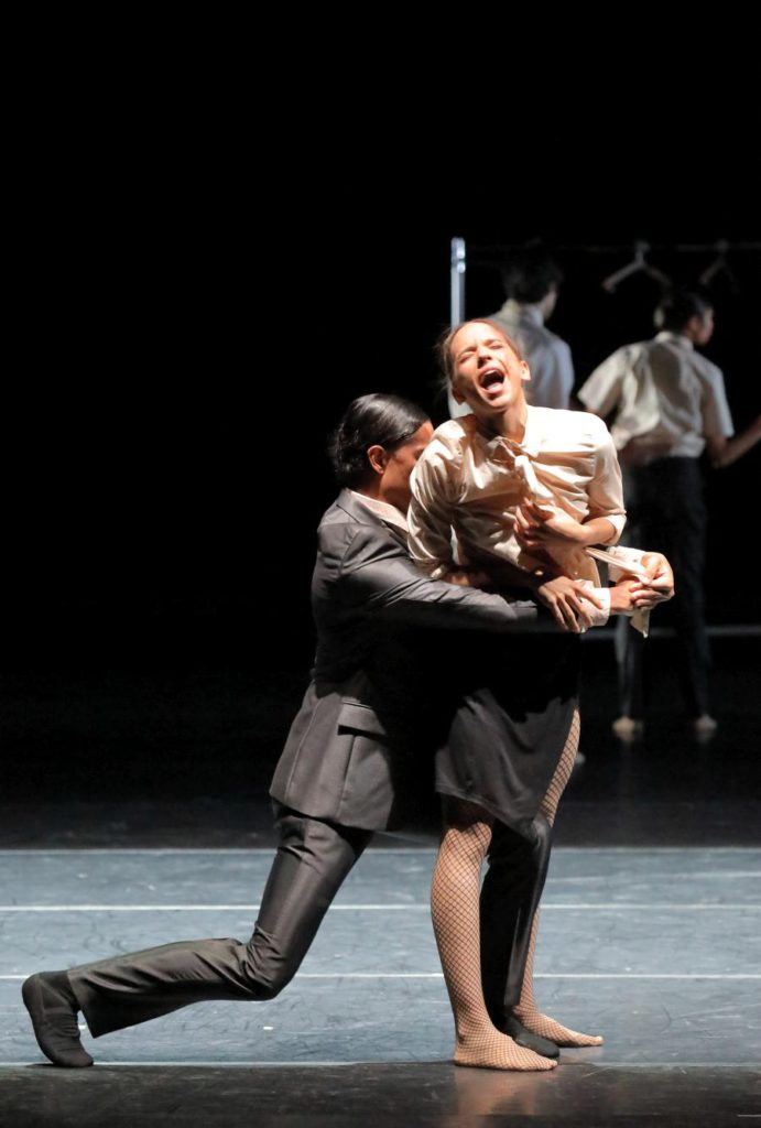 "16. N.Losada and M.Gonçalves, ""Discovery"" by A.Kaydanovskiy, Bavarian State Ballet 2017 © W.Hösl"