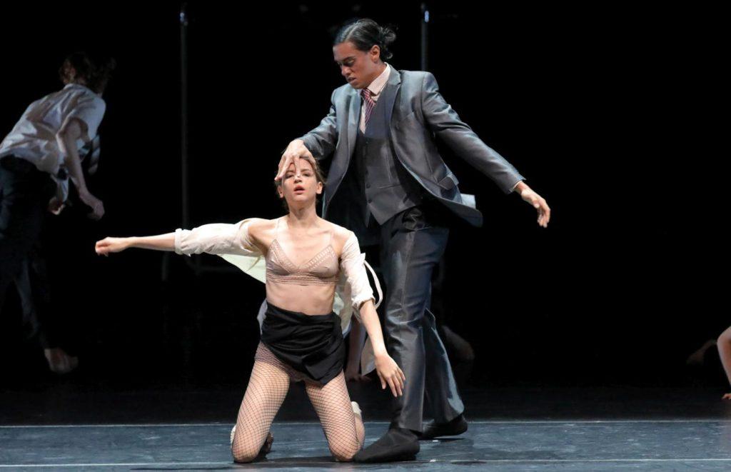 "17. M.Gonçalves and N.Losada, ""Discovery"" by A.Kaydanovskiy, Bavarian State Ballet 2017 © W.Hösl"