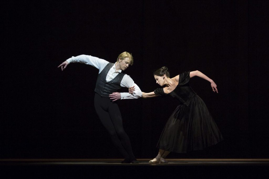 "6. M.Rademaker and I.de Jongh, ""Lady of the Camellias"" by J.Neumeier, Dutch National Ballet © A.Sterling"