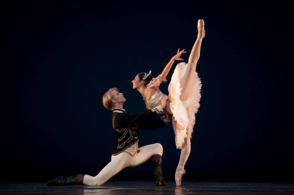 "10. M.Rademaker and M.Makhateli, ""The Sleeping Beauty"" by P.Wright, Dutch National Ballet © A.Sterling"