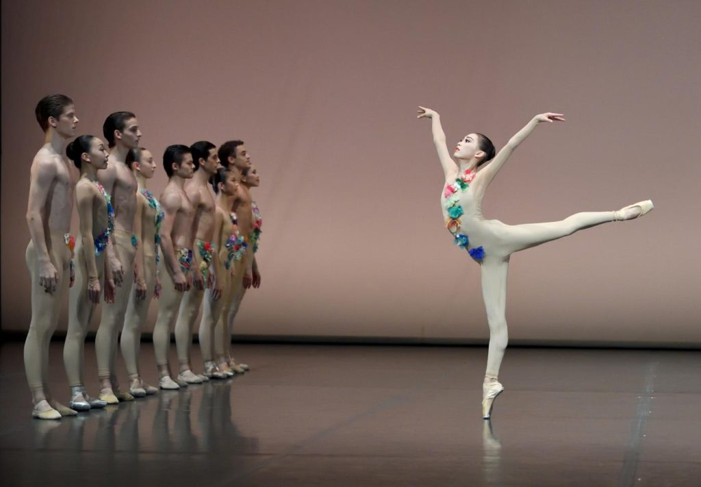 "4. Students of the John Cranko School, ""The Four Seasons"": ""Spring"" by K.Kozielska, John Cranko School © Stuttgart Ballet"