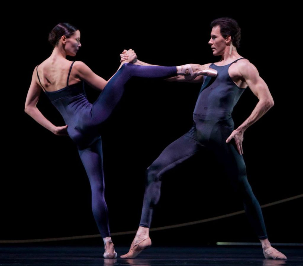 "29. I.de Jongh and J.Varga, ""Variations for Two Couples"" by H.van Manen, Dutch National Ballet © A.Sterling"