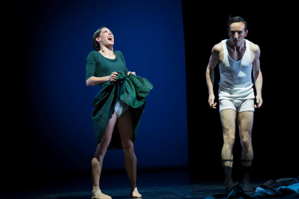 "23. D.Becker and R.Cabaleiro Campo, ""East Coasting"" by M.Foster, Ballett am Rhein © G.Weigelt"