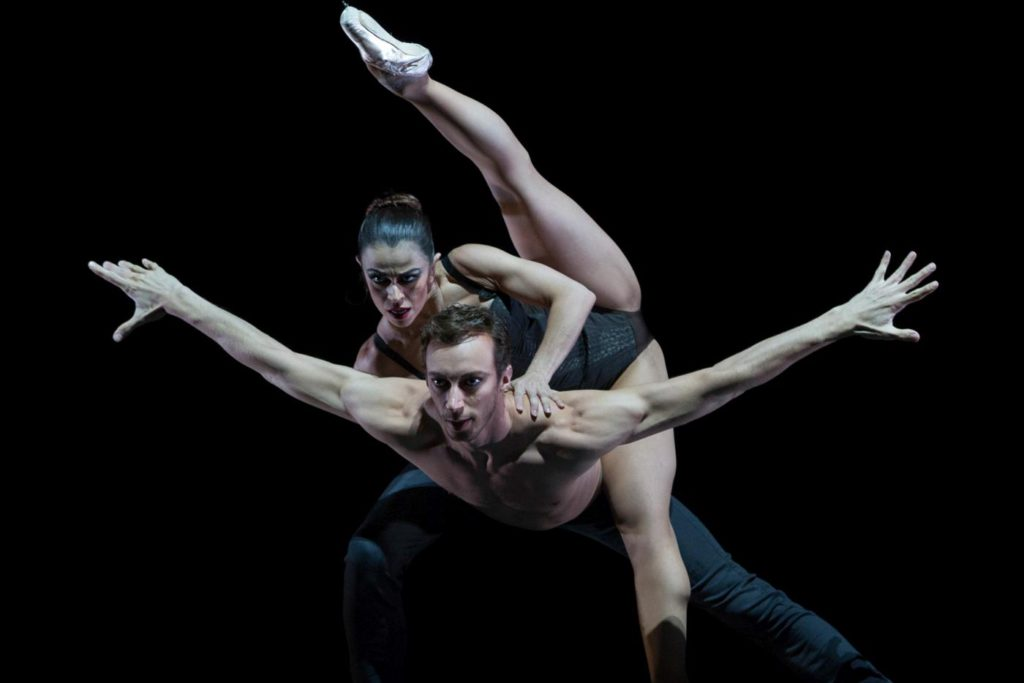 "16. M.do Amaral and M.Menha, ""Edge of Reason"" by C.Nzerem, Ballett am Rhein © G.Weigelt"