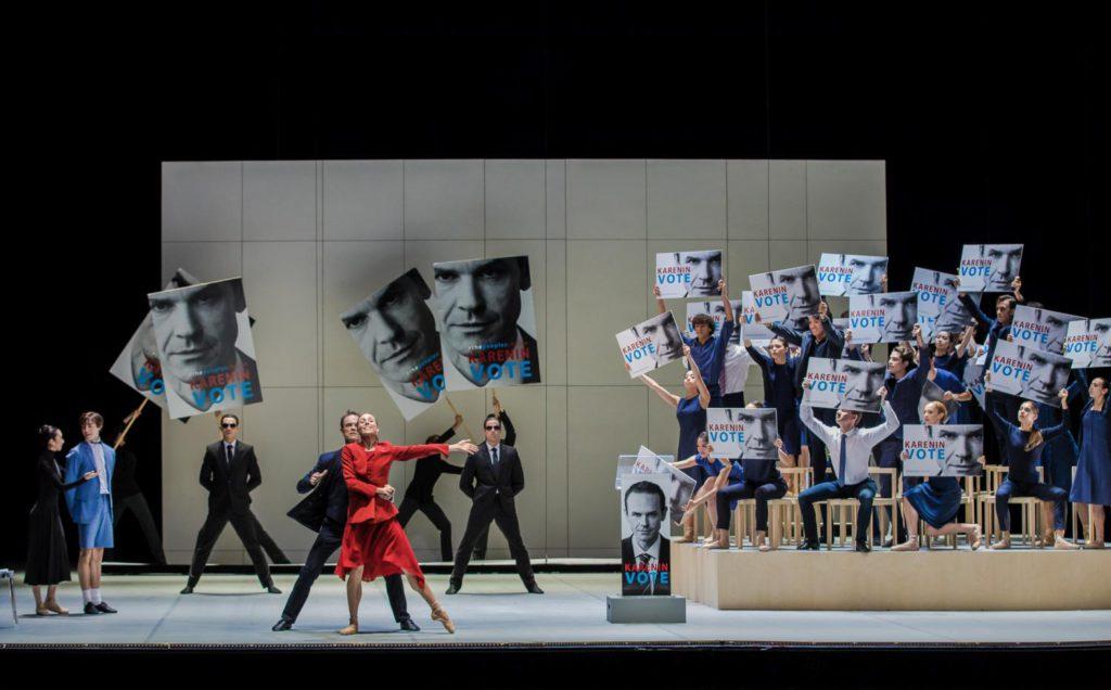 """1. M.Arii, M.Huguet, I.Urban, A.Laudere, L.Wang / G.Fuhrman and ensemble, """"Anna Karenina"""" by J.Neumeier, Hamburg Ballet © S.Ballone"""