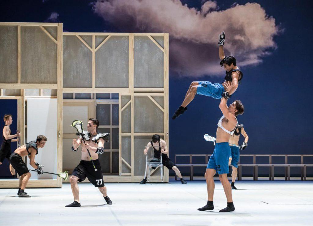 "9. Ensemble, ""Anna Karenina"" by J.Neumeier, Hamburg Ballet © S.Ballone"