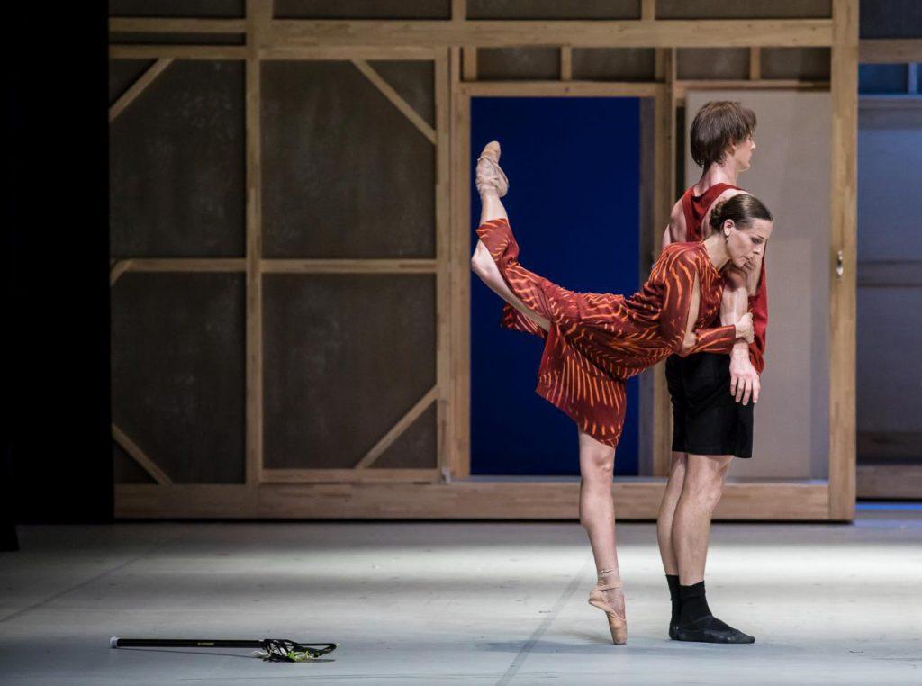"""10. A.Laudere and E.Revazov, """"Anna Karenina"""" by J.Neumeier, Hamburg Ballet © S.Ballone"""