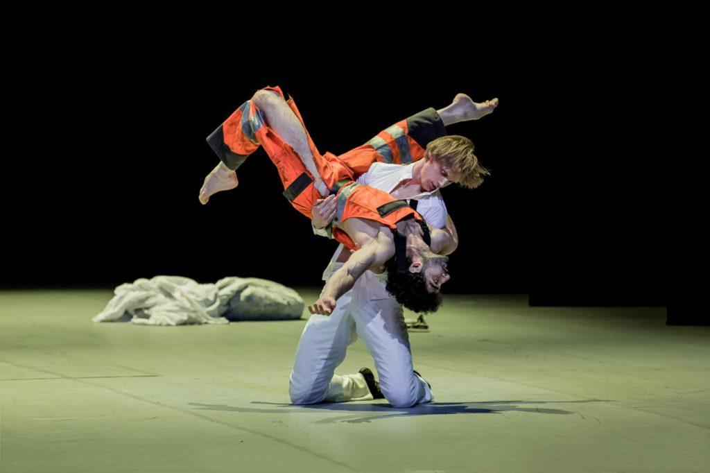 "19. E.Revazov and K.Azatyan, ""Anna Karenina"" by J.Neumeier, Hamburg Ballet © S.Ballone"