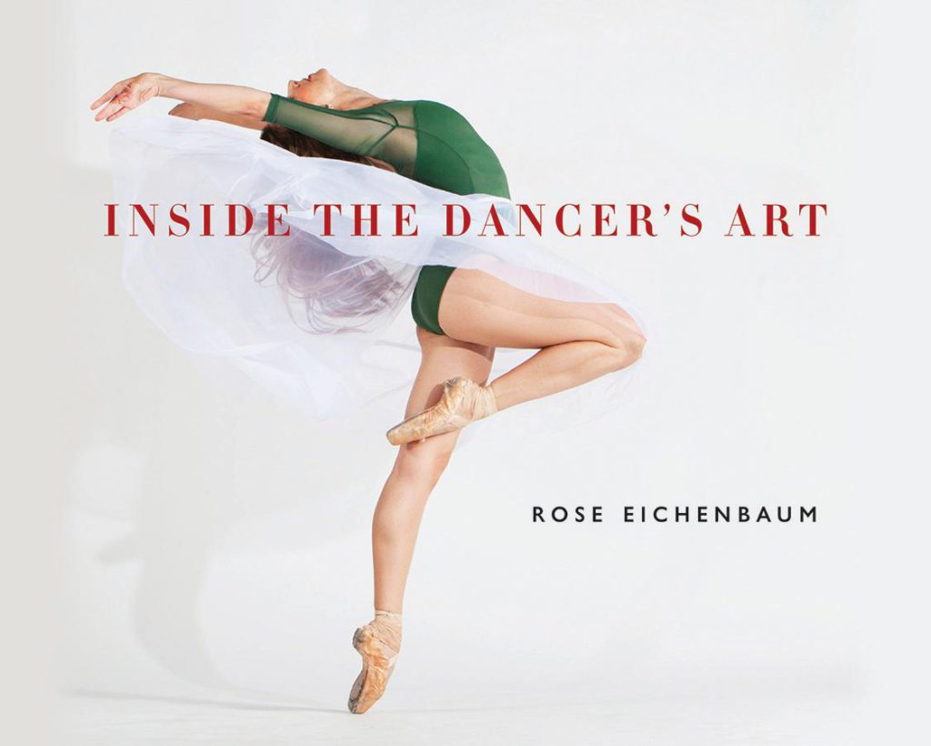"1. ""Inside the Dancer's Art,"" book cover © Wesleyan University Press"