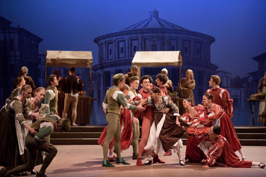 "4. Ensemble, ""Romeo and Juliet"" by R.Nureyev, English National Ballet © L.Liotardo"