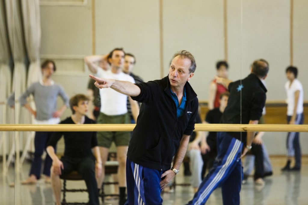 7. K.Pastor during a rehearsal, Polish National Ballet © E.Krasucka