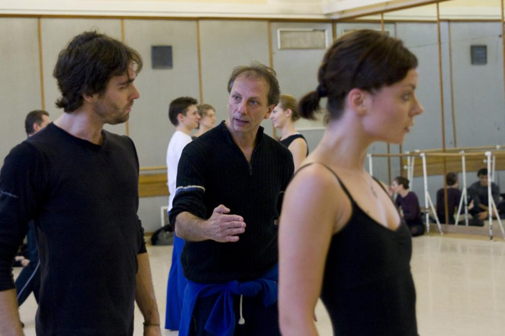 8. A.Kozal, K.Pastor and M.Fiedler during a rehearsal, Polish National Ballet © E.Krasucka