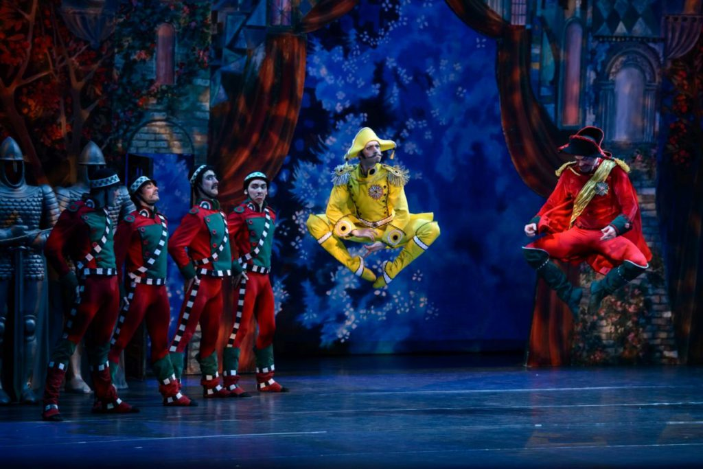 "27. Ensemble, ""Cipollino"" by H.Mayorov, Lithuanian National Opera and Ballet Theatre © M.Aleksa"