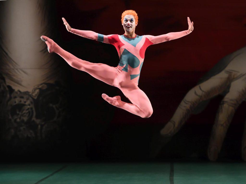 """10. A.Soares da Silva, """"Jeu de Cartes"""" by J.Cranko, Stuttgart Ballet 2017 © Stuttgart Ballet"""