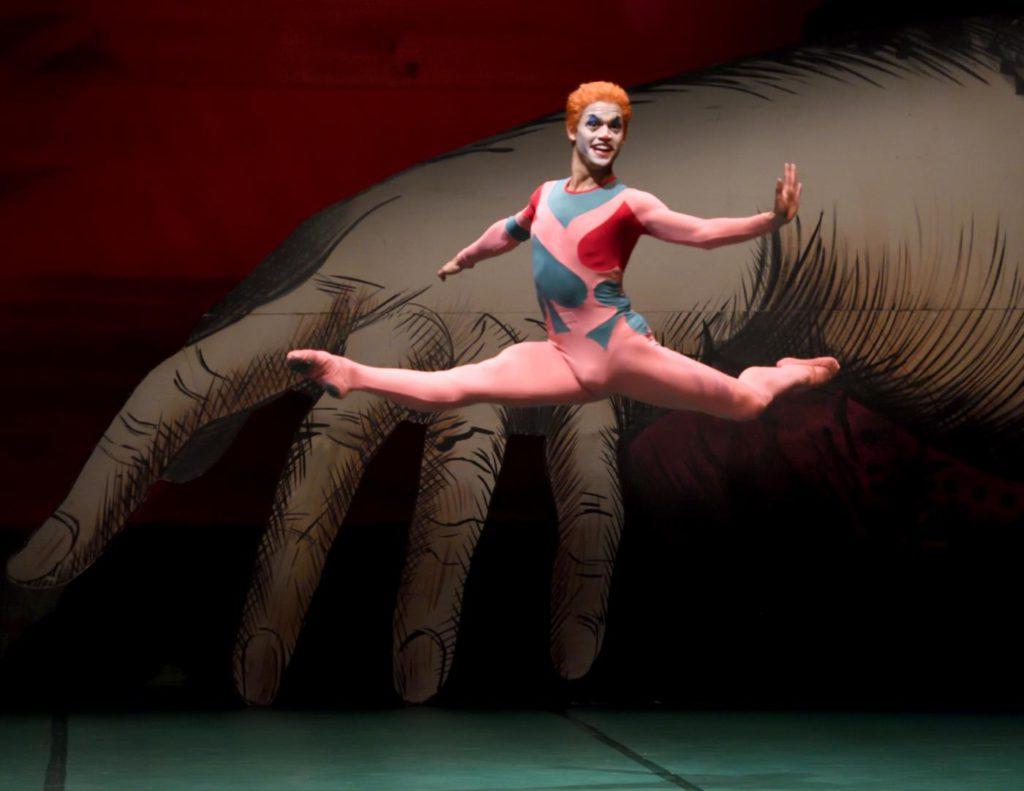 """11. A.Soares da Silva, """"Jeu de Cartes"""" by J.Cranko, Stuttgart Ballet 2017 © Stuttgart Ballet"""
