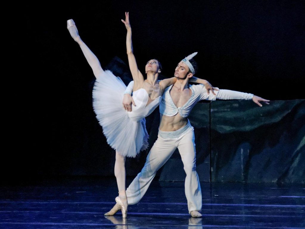 "34. Anastasia Čumakova and Genadij Žukovskij, ""La Bayadère"" by Marius Petipa, Lithuanian National Opera and Ballet Theatre © M.Aleksa"