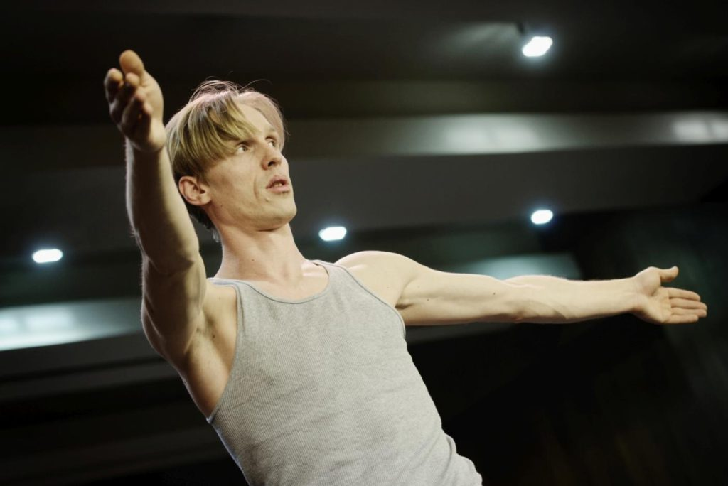 28. M.Rimeikis during a rehearsal, Lithuanian National Opera and Ballet Theatre © M.Aleksa