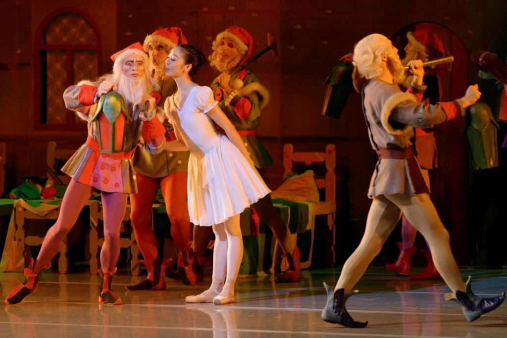 "24. H.Ohno and ensemble, ""Snow White and the Seven Dwarfs"" by W.Borkowski, Lithuanian National Opera and Ballet Theatre © M.Aleksa"