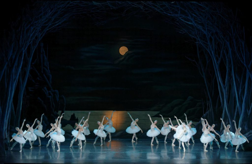 "39. Ensemble, ""Swan Lake"" by M.Petipa and L.Ivanov, Lithuanian National Opera and Ballet Theatre © M.Aleksa"