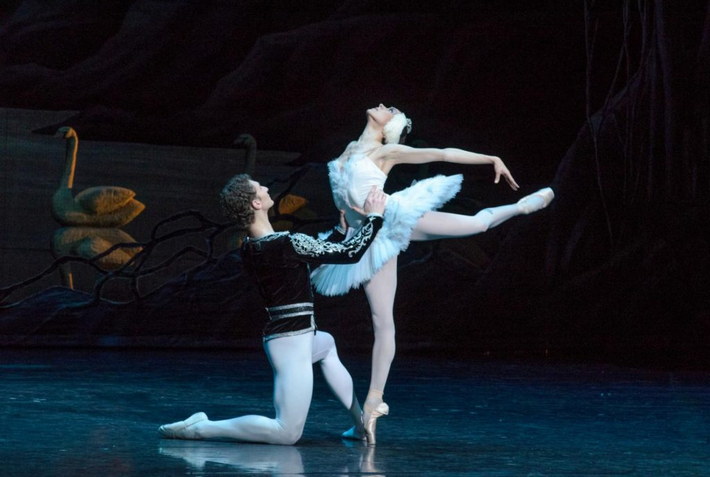 "38. G.Žukovskij and A.Čumakova, ""Swan Lake"" by M.Petipa and L.Ivanov, Lithuanian National Opera and Ballet Theatre © M.Aleksa"