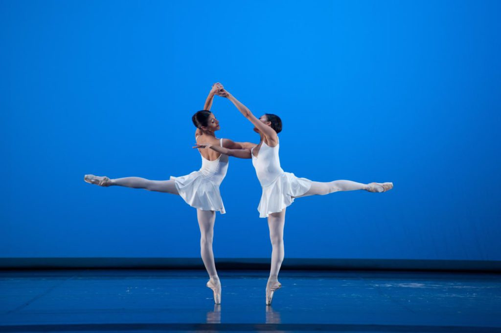 "10. M.Żuk and Y.Ebihara, ""Concerto Barocco"" by G.Balanchine, Polish National Ballet © E.Krasucka"