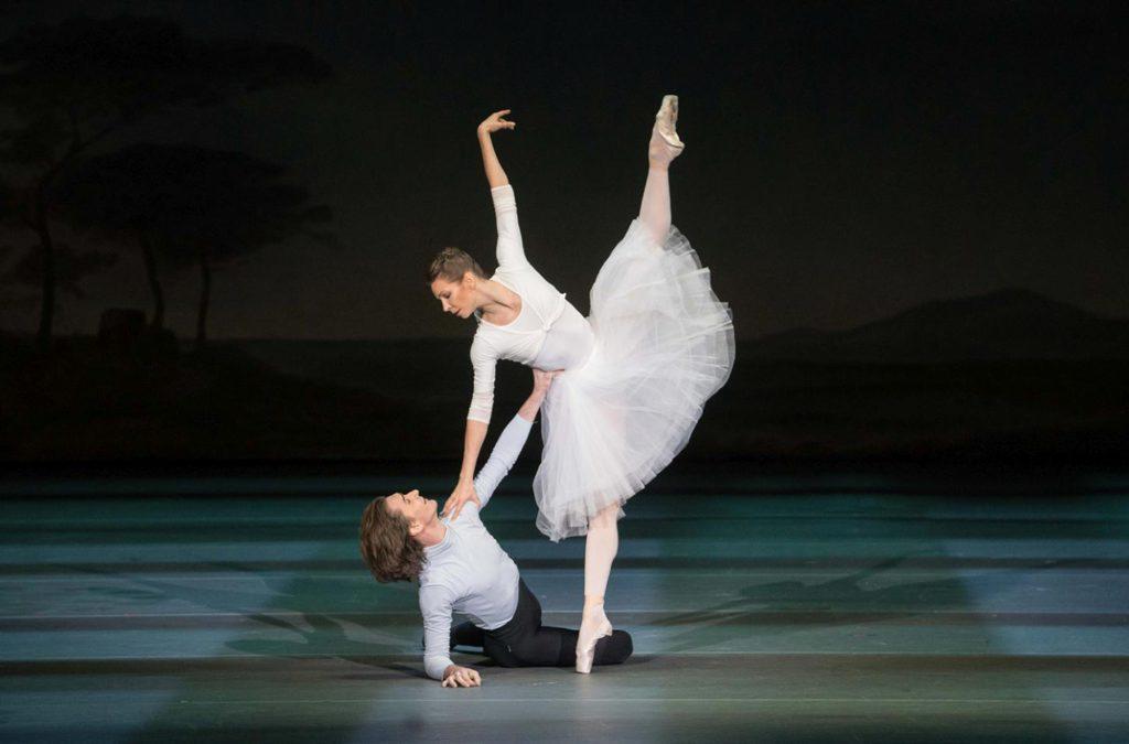 """9. V.Lantratov and M.Alexandrova, """"Nureyev"""", chor.: Y.Possokhov, dir.: K.Serebrennikov, Bolshoi Ballet 2017 © Bolshoi Ballet / P.Rychkov"""